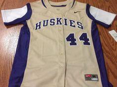 University of Washington Huskies Softball Medium Nike Team Women's Jersey NCAA #Nike #Jerseys