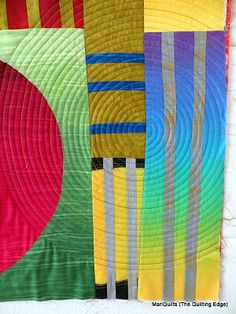 The Quilting Edge: There's More than One Way to Quilt a Spiral...an amazing tutorial on quilting spirals.