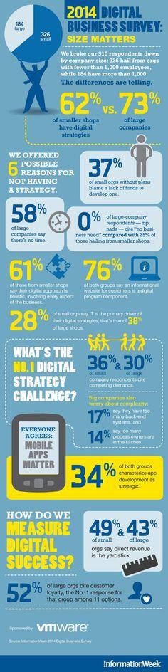 INFOGRAPHIC: 2014 Digital Business Survey   Cloud Central   Scoop.it