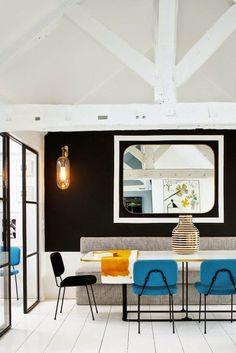 The apartment of interior designer Sarah Lavoine - http://www.interiordesign2014.com/interior-design-ideas/the-apartment-of-interior-designer-sarah-lavoine/