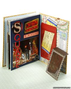 Scrapbooking Ideas  Scrapbooking can be a lot of fun for children and a really wonderful way for them to relive and preserve the memories -- and memorabilia -- of their special experiences and trips.