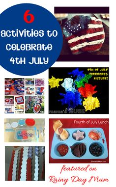 4th July Activities for Tots to celebrate with featured on Rainy Day Mum
