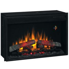 Clic Flame 26 Electric Fireplace Insert W Realistic Effect26ef022gra