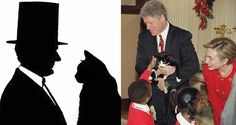 Dogs are well known in the White House, but did you know there were plenty of cat lovers who lead the United States?