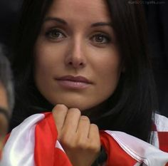 Stunning Croatian girl at EURO 2012.  More girls from Croatia: http://euro2012girls.com/croatian-girl/