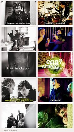 Sober Sherlock vs Drunk Sherlock He's clueing for looks  This is my favourite type of Sherlock and John