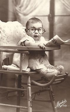 bet he grew up to be a banker Looks like the first E-Trade investor baby! cm