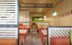 Coca-Cola HQ canteen by Stone Designs, Madrid – Spain » Retail Design Blog