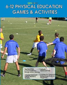 Junior High Physical Education Games Fnds 2140