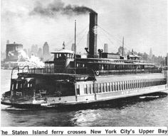New York City - Staton Island Ferry