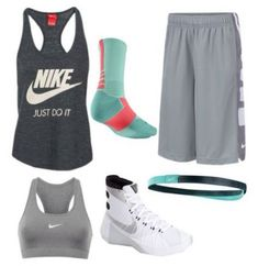 Basket Ball Hairstyles Shoes 35 Trendy Ideas – Sport is lifre Teen Fashion Outfits, Nike Fashion, Nike Outfits, Sport Outfits, Athleisure Outfits, School Outfits, Basketball Shoes, Basketball Outfits, Basketball Drills