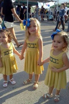 We love our cute little legacies. These are our future women leaders! Phi Sig