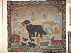 Barb  Carroll  Hooked  Rug  Rugs  and  Pugs  Blog