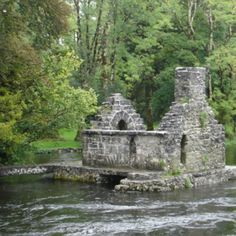 Cong, Ireland - beautiful little town, and a great place to begin the tour of The Battle of Magh Tuireadh.