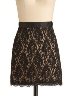Love the black lace over the nude lining (also love this blog! via Avoiding a Quarter-Life Crisis)