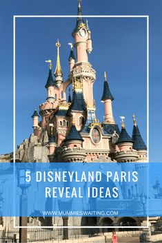 Some people tell the kids straight away that they are going to Disney and other people do a Disneyland Paris Reveal. If you are thinking about going down the reveal route, you're probably starting to… Disney Resorts, Disney Vacations, Disney Tips, Disney Parks, Disney Magic, Disneyland Paris Castle, Disneyland Tips, Disney Reveal, Disney Vacation Planning
