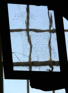 A belated link to our Valentine's Day package on the plaintive early-1800s love letters etched into the window glass at historic Bacon's Castle; bit.ly/20BxGjW -- Mark St. John Erickson