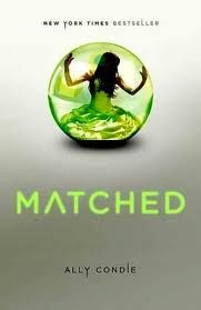 Reading this right now! So far so good! Matched by Ally Condie Book 1 of the Matched trilogy
