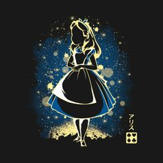 7524c84bd Shop The Wonderland alice in wonderland t-shirts designed by Soulkr as well  as other alice in wonderland merchandise at TeePublic.