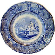 Προβολή εικόνας προέλευσης Blue China, Decorative Plates, Antiques, Tableware, Image, Home Decor, Antiquities, Antique, Dinnerware