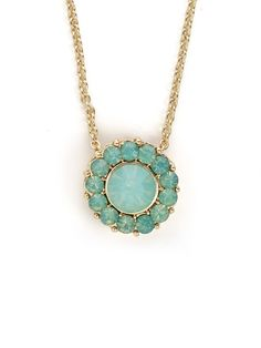 Mint Bloom Pendant - View All - Just In | BaubleBar
