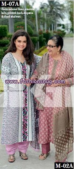 Gul Ahmed Summer Dresses 2013 For Mother's Day
