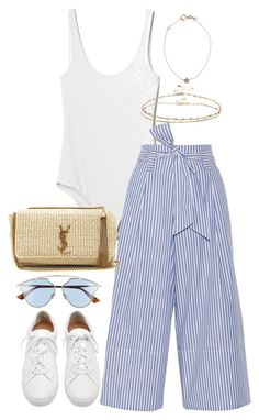 """Untitled #4173"" by theeuropeancloset on Polyvore featuring Gap, By Malene Birger, Christian Dior, Loeffler Randall, Yves Saint Laurent, ASOS and Kismet"