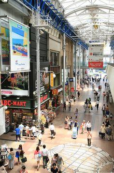 Sannomiya shopping arcade, Kobe, Japan 三宮センター街