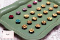 Glitter Magnets.. :)