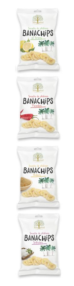 Banachips Tesoro Natural. Diseño de línea de packaging. Bread, Snacks, Natural, Food, Studio, Appetizers, Eten, Bakeries, Nature