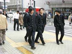 学ランという男子学生服