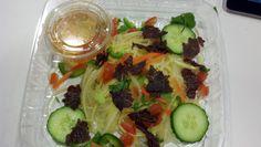 Green Papaya Salad with Beef Jerky. Saigon Sisters.