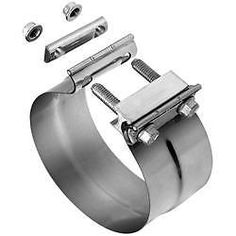 """Stainless Lap Joint Clamp Sleeve Band For  Nissan 2.25/"""" 2 1//4/""""  Exhaust OD Pipe"""