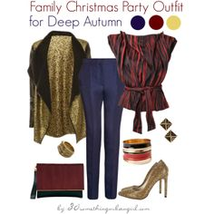 3d59312f5bee Chic Christmas party outfit ideas for Deep Autumn and Deep Winter
