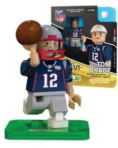 ccec7e58d29 Tom Brady New England Patriots Super Bowl XXXVI mini figure Oyo Sports NIB  NFL