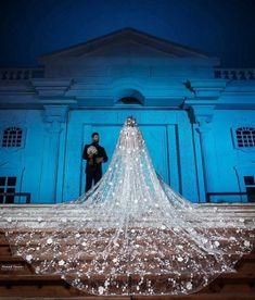 Lace Mermaid Wedding Dress, Princess Wedding Dresses, Long Wedding Dresses, Bridal Dresses, Wedding Gowns, Long Wedding Veils, Bridal Veils, Wedding Dress Long Train, Lace Wedding