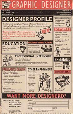 diseño de currículum periodico Diseños de currículums que impresionan