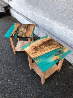 Diy Resin Table, Epoxy Table Top, Epoxy Wood Table, Diy Table Top, Epoxy Resin Table, Resin And Wood Diy, Diy Wood, Diy Resin Crafts, Wood Crafts