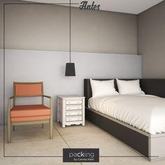 A equipe do @packingbycamilaklein trouxe a vida que faltava para este quarto. Veja a mudança em alguns minutos. Se você gostar, entre em contato com o packing@cklein.com.br. #packingbycamilaklein #quarto #decoracao