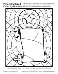 Bible Coloring Pages for kids | Prophets Told About God's Son * Freebie * Great for Sunday School