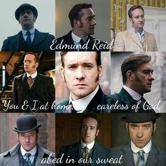 Inspector Edmund Reid in Ripper Street Season 4