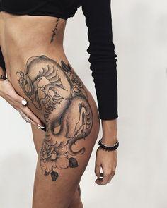 Evgeny Kopanov — #tattoo #linework #dotwork #evgeny_kopanov...