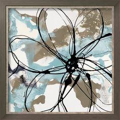 Free Flow I Art Print by Natasha Barnes at Art.com