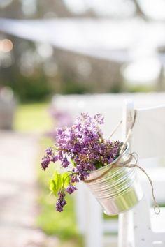 Lavender in the ceremony