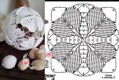 Zdjęcie użytkownika Crochet art and craft. Crochet Ball, Thread Crochet, Crochet Granny, Crochet Doilies, Crochet Flowers, Crochet Stitches, Crochet Christmas Ornaments, Christmas Crochet Patterns, Crochet Snowflakes