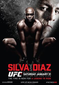 Today's ufc 183 weigh-ins event takes from the mgm grand garden arena in. When anderson silva and nick diaz enter the octagon at ufc they will do. Diaz Ufc, Ufc Events, Las Vegas, Ufc Fighters, Mma Boxing, Broken Leg, The Time Is Now, Fight Night, Mixed Martial Arts