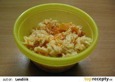 """Pro nejmenší - Rizoto s mrkví sýrem a rajčaty"""" recept - TopRecepty.cz Grains, Food And Drink, Baby, Baby Humor, Infant, Seeds, Babies, Babys, Korn"""