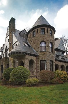 Portland's most stunning example of the Richardsonian Romanesque style, with its trademark medieval-inspired stone arches, cone-topped turre...Built in 1892