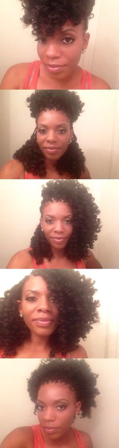 Marley hair micro braids style Protective style