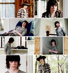"The Walking Dead 5x12 ""Remember"" Carl Grimes"